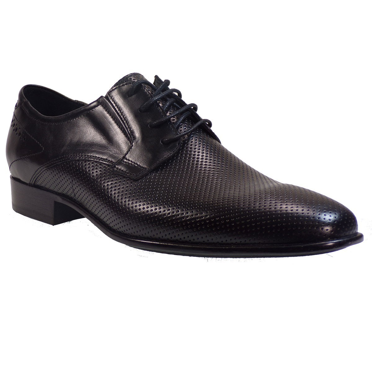 kricket Ανδρικά Παπούτσια 681Λ Μαύρο Δέρμα