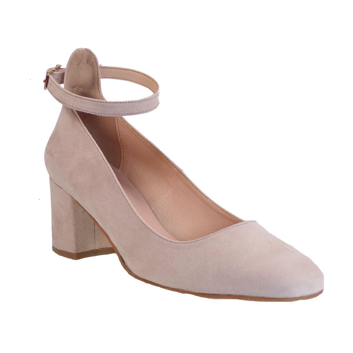 Μoods shoes Γυναικεία Παπούτσια Γόβα 1310 Nude Kαστόρι