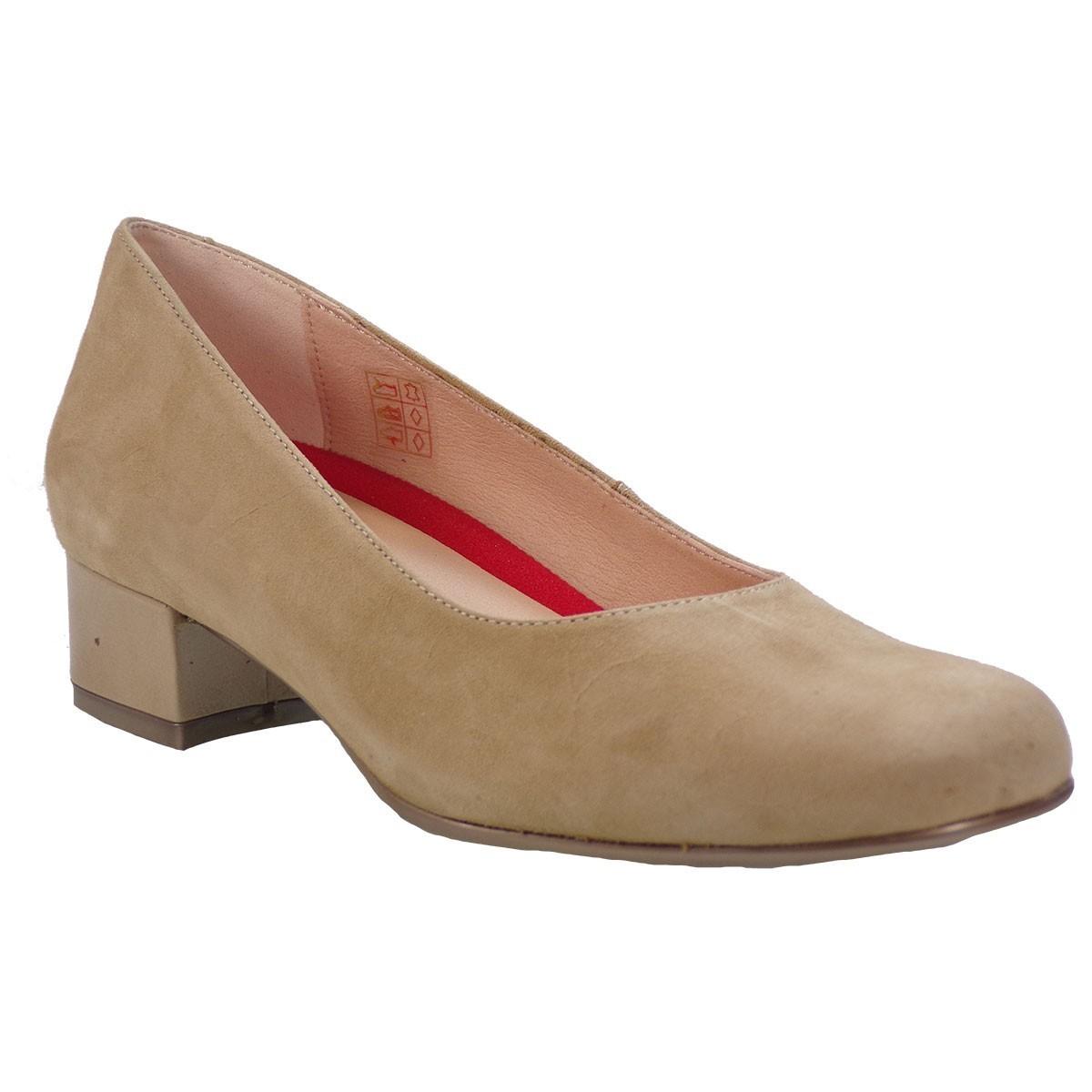 PEPE MENARGUES SHOES Γυναικεία Παπούτσια 1850 Μπέζ Δέρμα