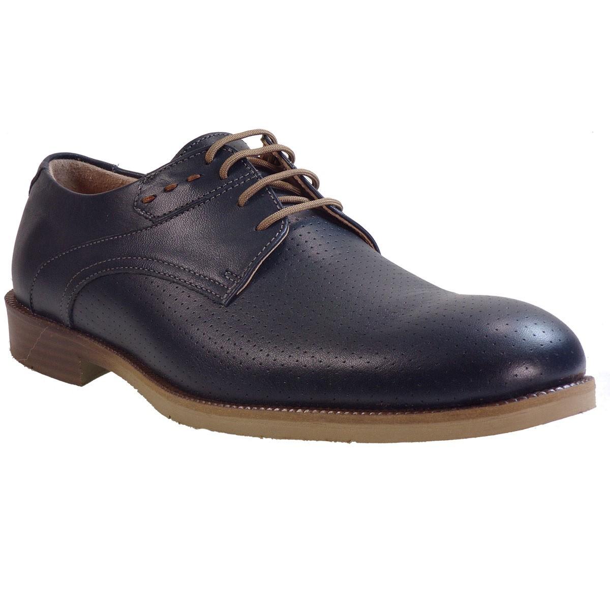 Commanchero Ανδρικά Παπούτσια 91694 Μπλέ Δέρμα