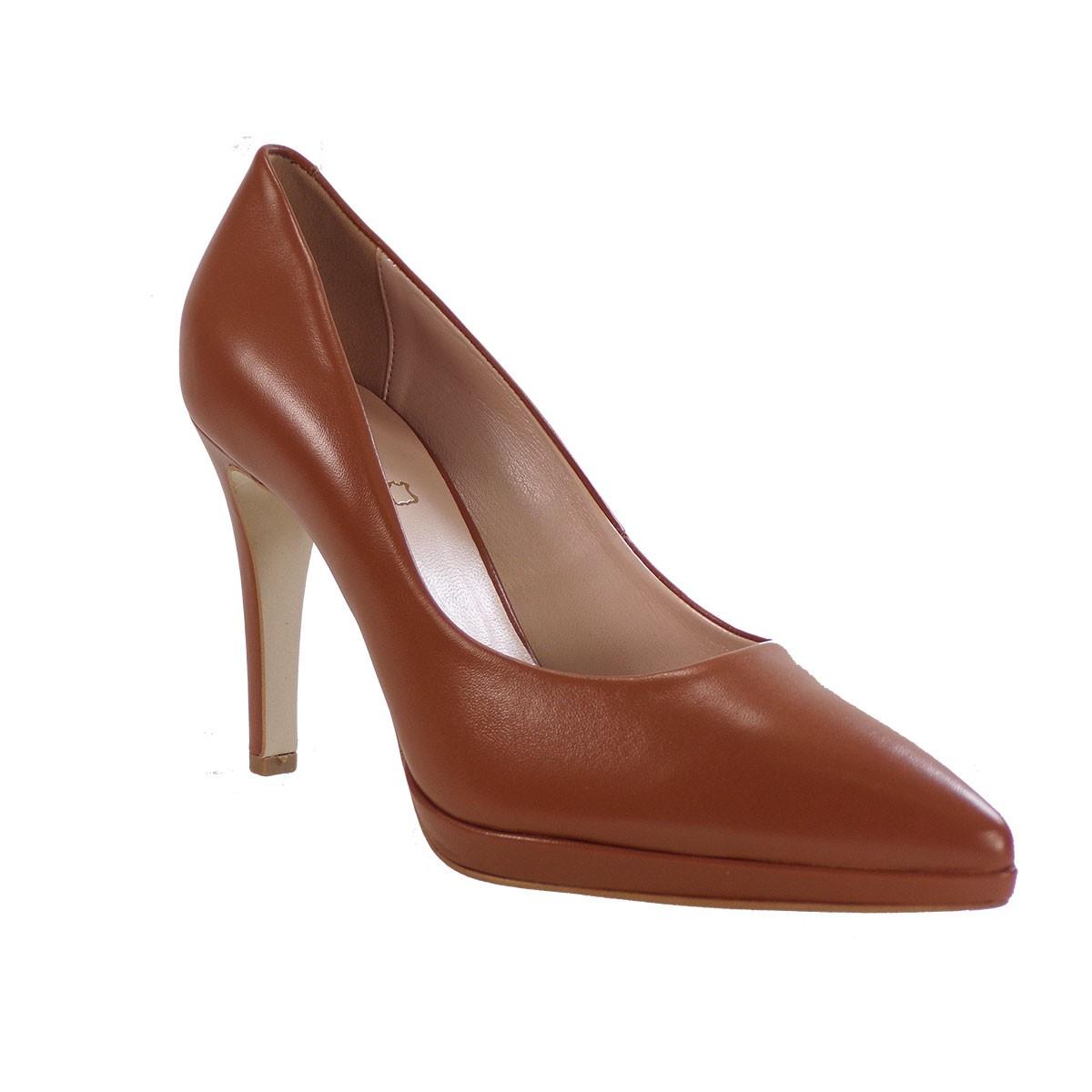 Fardoulis Shoes Γυναικεία Παπούτσια Γόβες 2501 Ταμπά Δέρμα