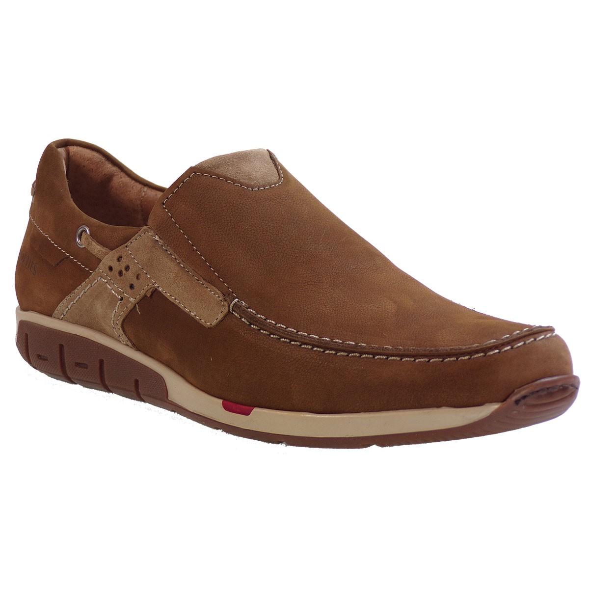 10dc73063fc Softies Ανδρικά Παπούτσια 6966 Ταμπά Δέρμα Καστόρι