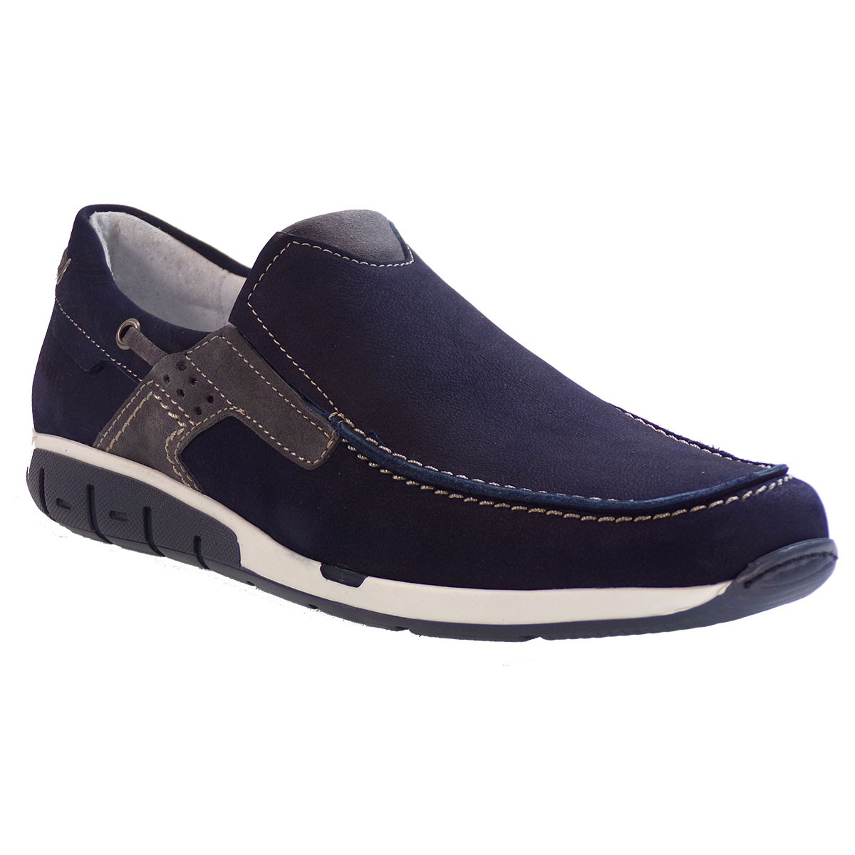 cda6a185a8d Softies Ανδρικά Παπούτσια 6966 Μπλέ Δέρμα Καστόρι  Γυναικεία ...