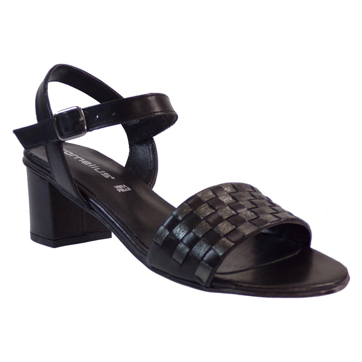 Cornelius Shoes Γυναικεία Πέδιλα 31-260 Μαύρο