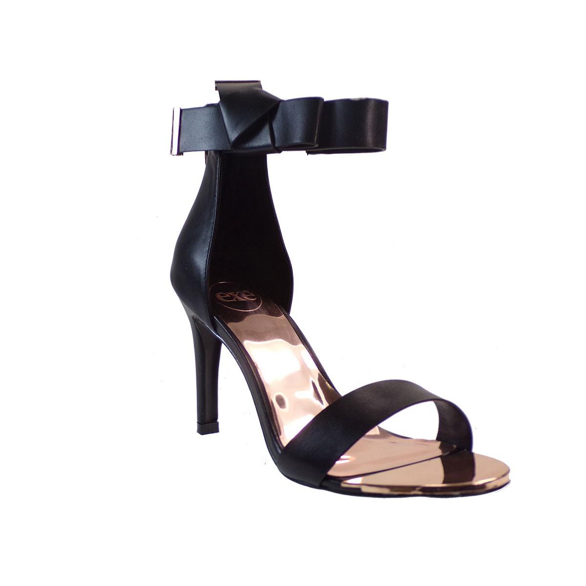 1ea40f03c71 EXE Shoes Πέδιλα Γυναικεία REBECA-442 Μαύρο T4700442500105 ...