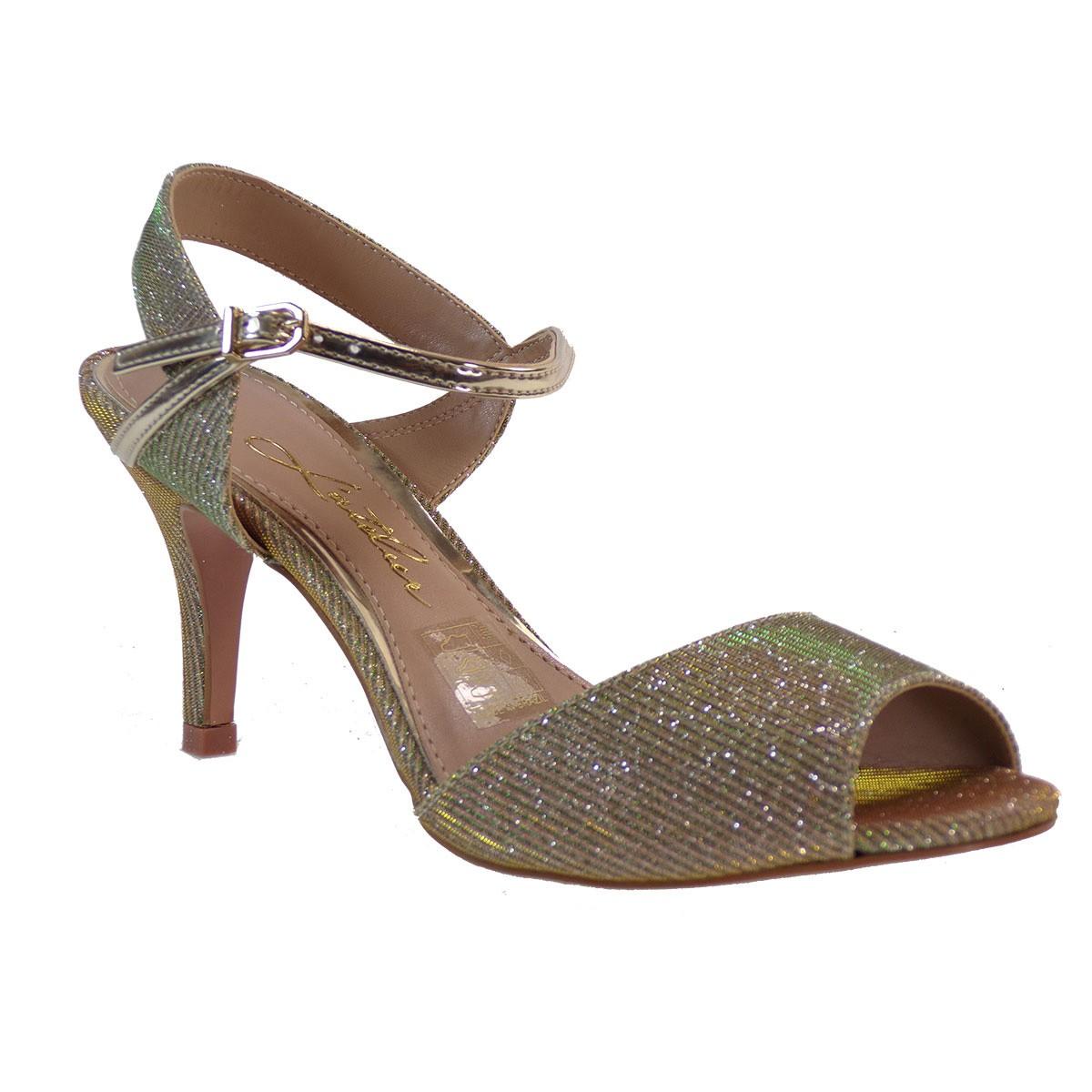 L'ATELIER Γυναικεία Παπούτσια Πέδιλα 1031-80667 Χρυσό 887292693
