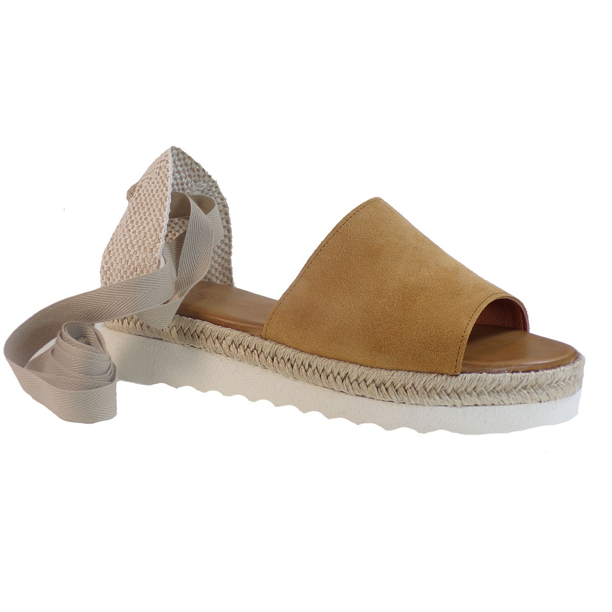 Katia Shoes Anneto Γυναικείες Εσπαντρίγιες Κ159-P Κάμελ