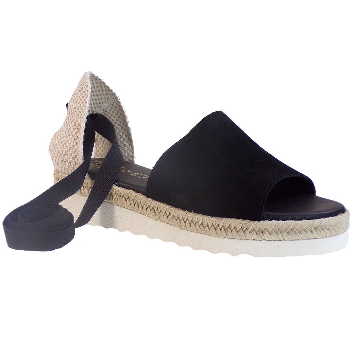 Katia Shoes Anneto Γυναικείες Εσπαντρίγιες Κ159-P Μαύρο