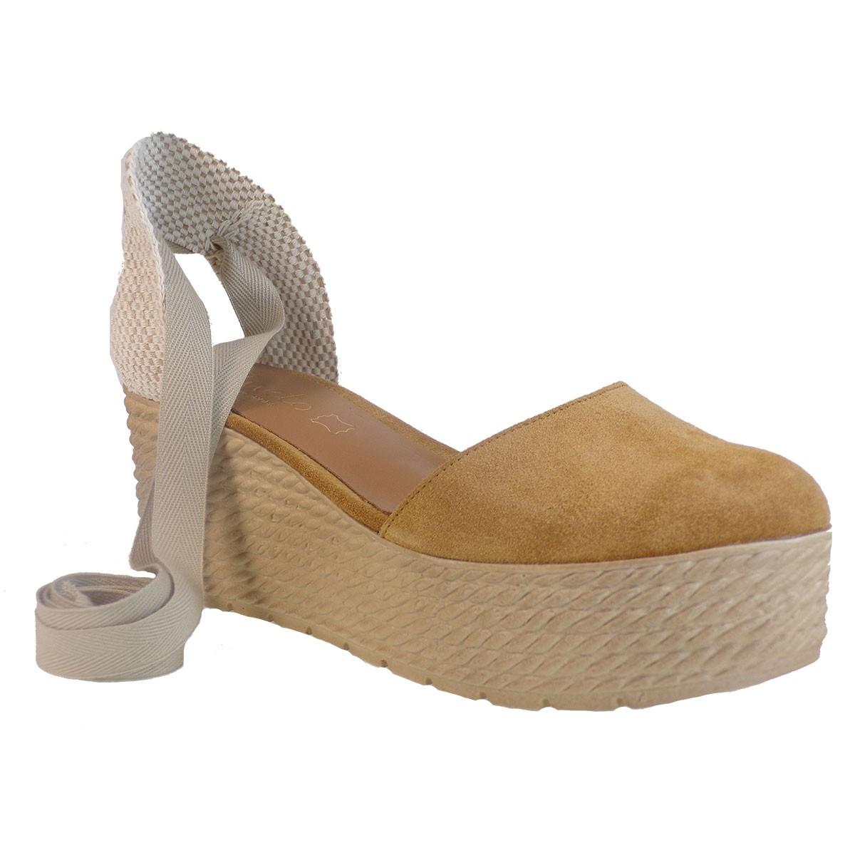 Katia Shoes Anneto Γυναικείες Εσπαντρίγιες Κ155-1087 Κάμελ