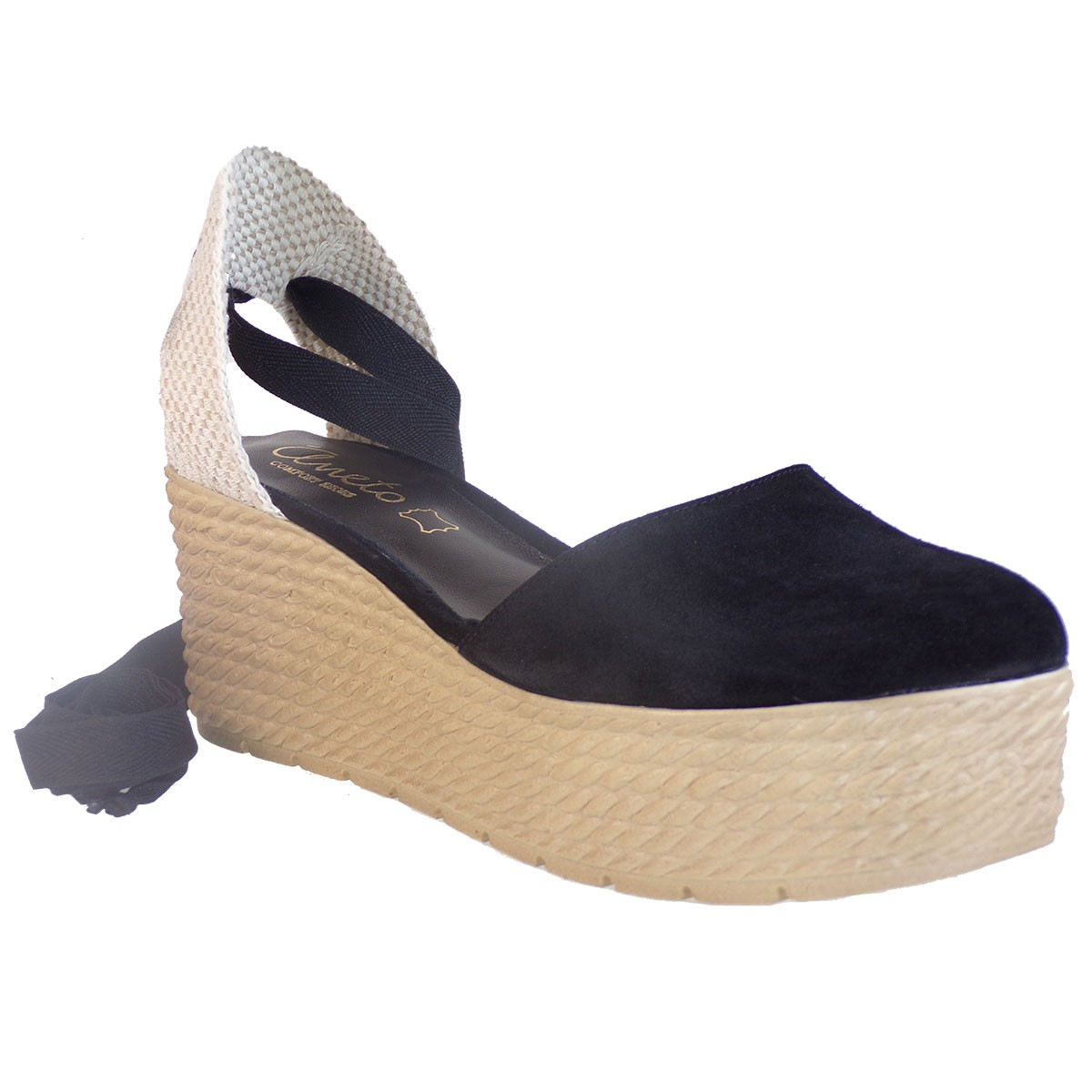 f88d1848e23 Katia Shoes Anneto Γυναικείες Εσπαντρίγιες Κ155-1087 Μαύρο