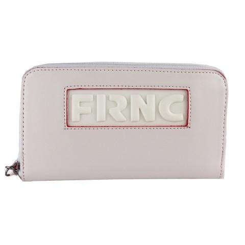 FRNC FRANCESCO Γυναικεία Πορτοφόλια Τσαντάκια WAL005 Off White
