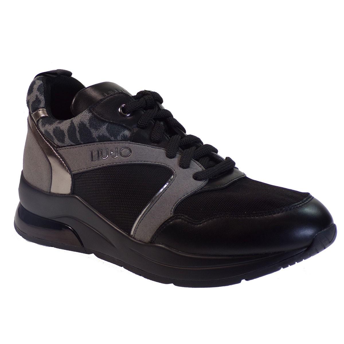 Liu-Jo Sneakers KARLIE 23 Παπούτσια Γυναικεία B69031 Μαύρο