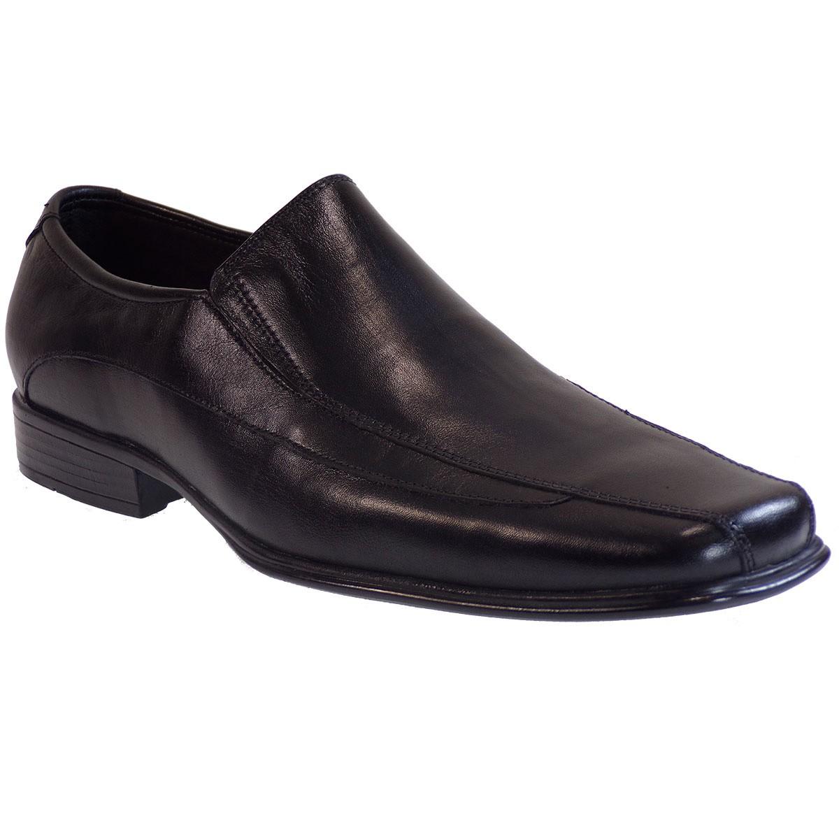 Vero Shoes Παπούτσια Αντρικά 128 Μαύρο Δέρμα