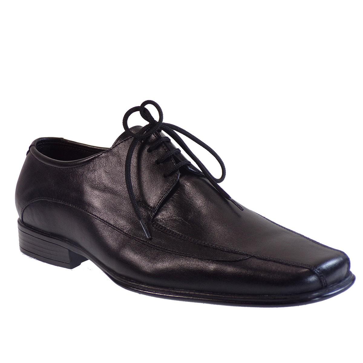 Vero Shoes Παπούτσια Αντρικά 129 Μαύρο Δέρμα