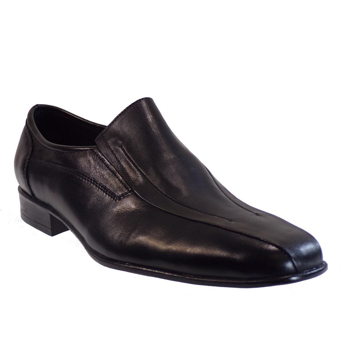 Vero Shoes Παπούτσια Αντρικά 163 Μαύρο Δέρμα