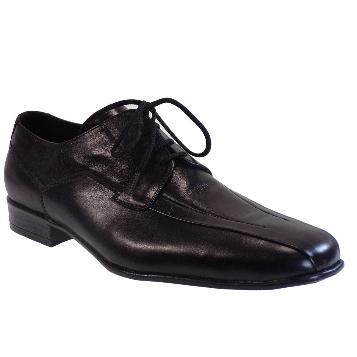 Vero Shoes Παπούτσια Αντρικά 164 Μαύρο Δέρμα
