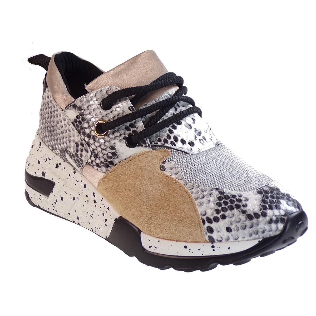 Bagiota Shoes Γυναικεία Παπούτσια Sneakers Αθλητικά H8956 Λευκό