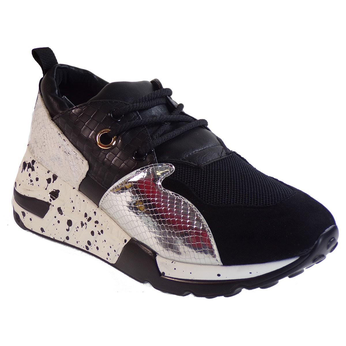 Bagiota Shoes Γυναικεία Παπούτσια Sneakers Αθλητικά H8956 Μαύρο