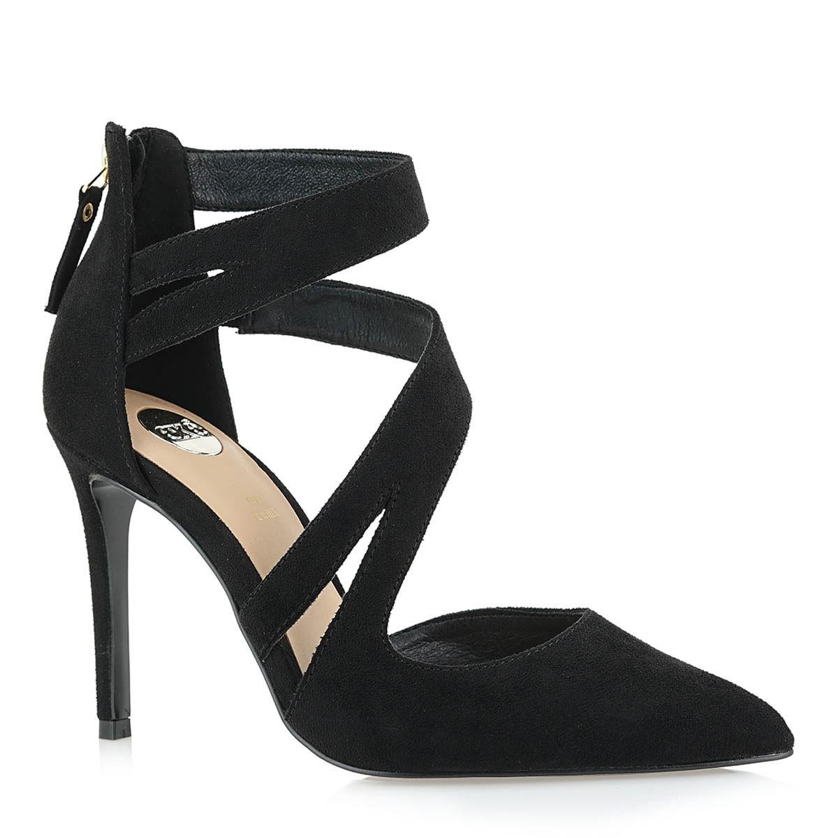 Exe Shoes Γυναικείες Γόβες 283-JESSICA-382 Μαύρο Καστόρι J17002835004