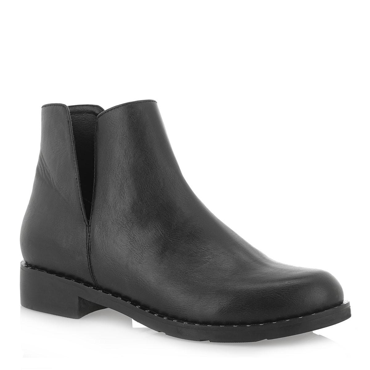 Exe Shoes Γυναικεία Μποτάκια FRIDA-348 Μαύρo J37003482001