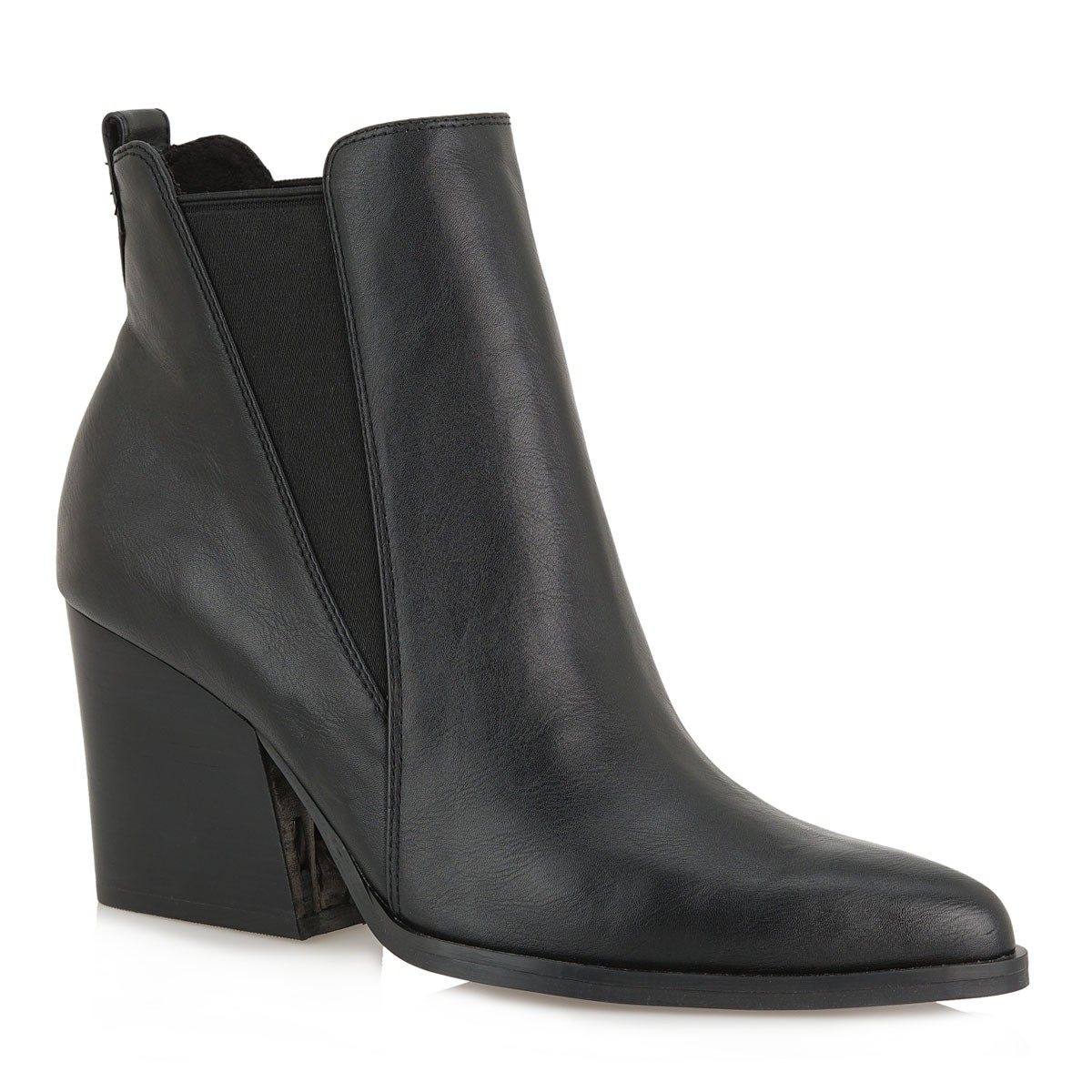 Exe Shoes Γυναικεία Μποτάκια RAMONA-501 Μαύρo J37005104001