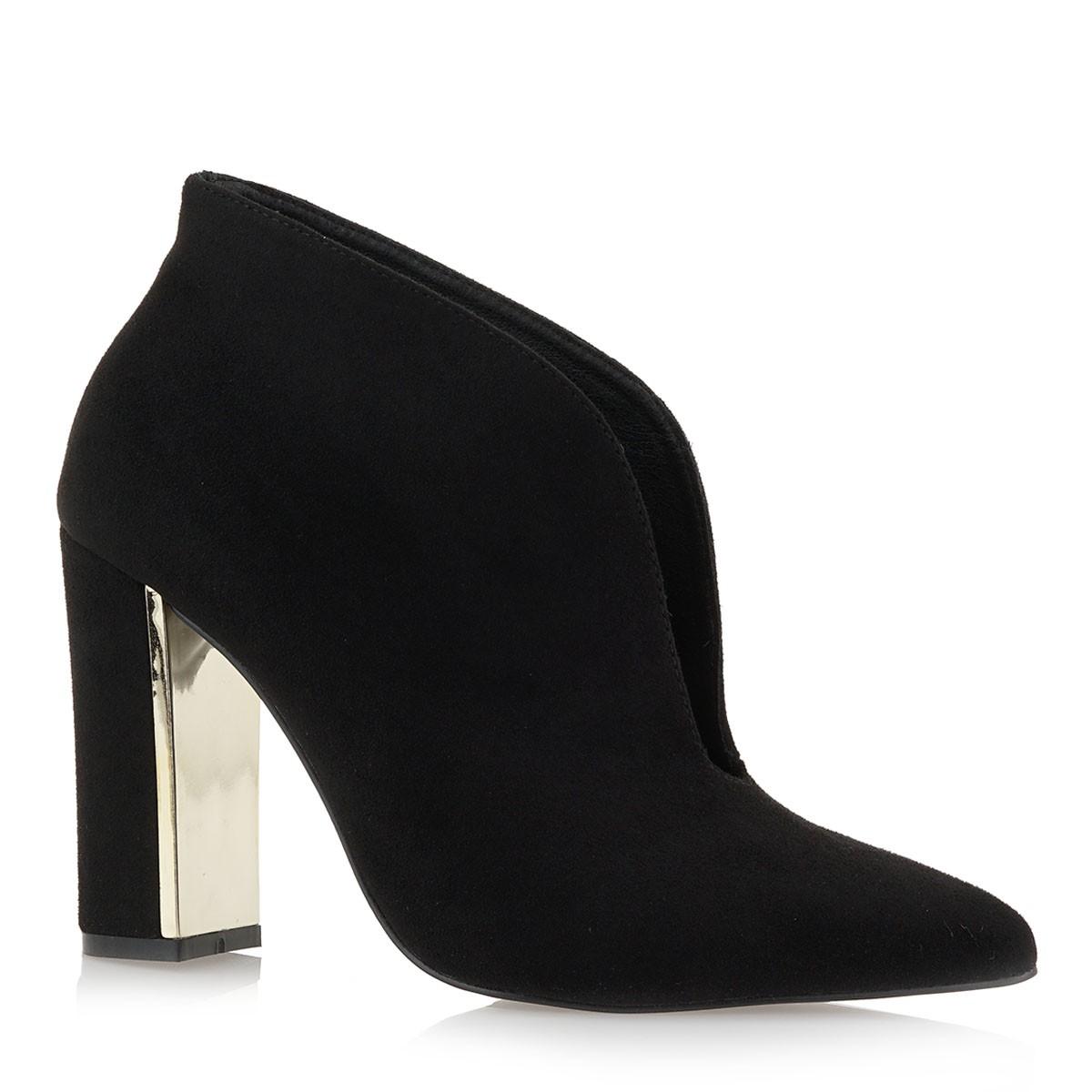 Exe Shoes Γυναικεία ANKLE BOOTS Μποτάκια PATRICIA-922 Μαύρo Καστόρι J37009225004