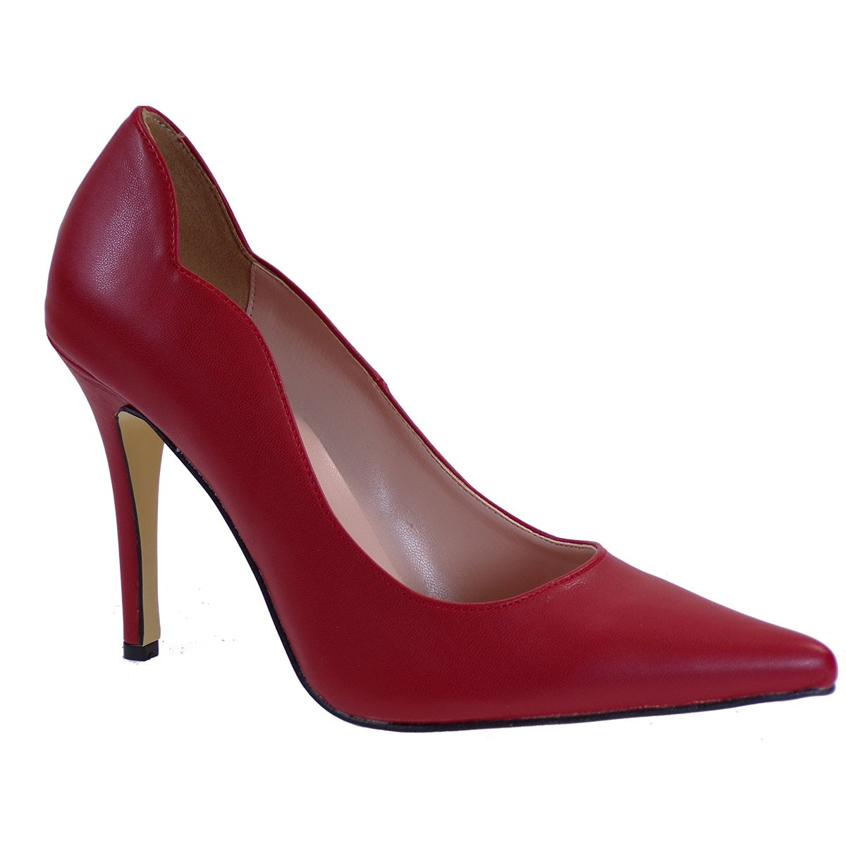 Alessandra Paggioti Γυναικεία Παπούτσια Γόβες 89122 Κόκκινο Ματ