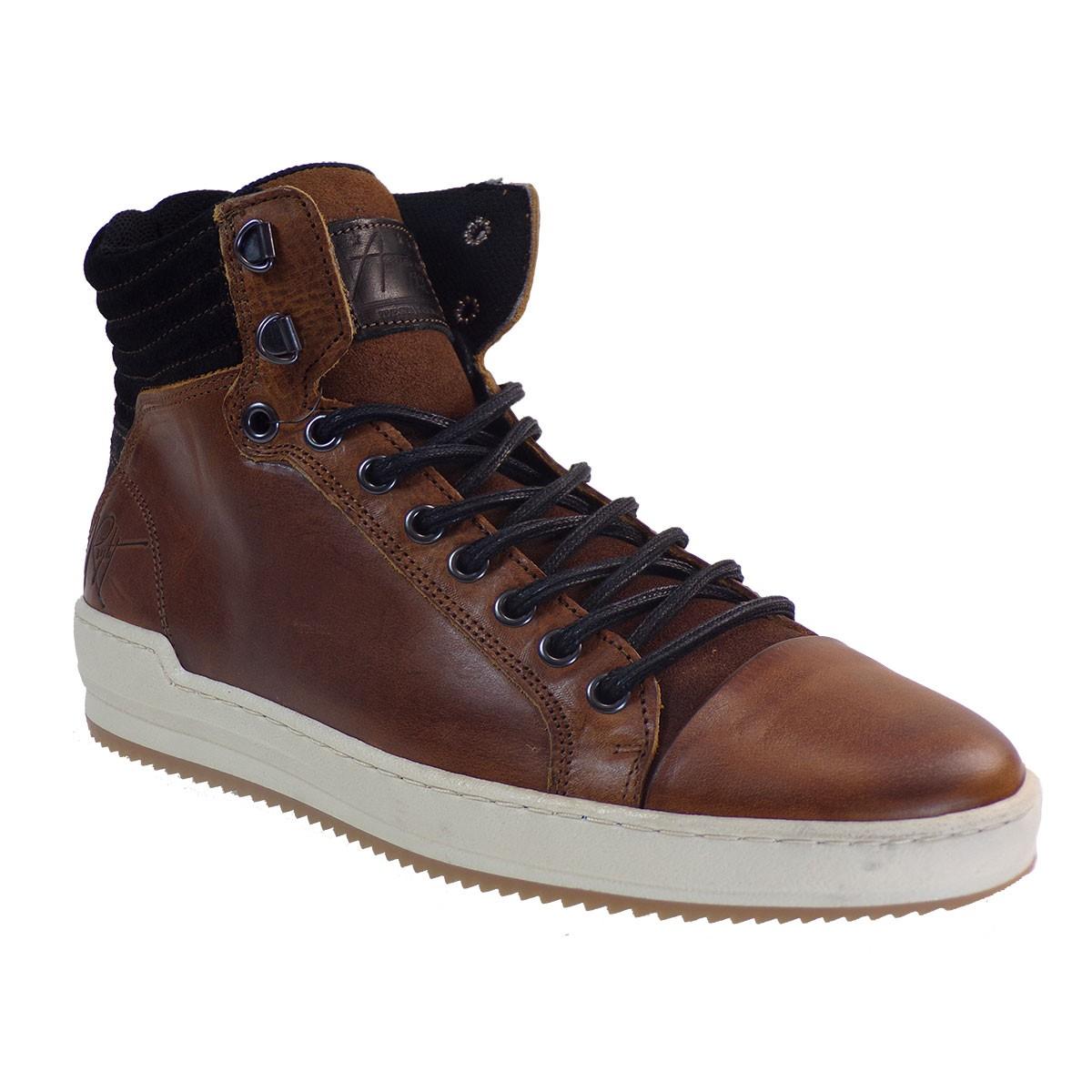 Bullboxer Ανδρικά Παπούτσια Mποτάκια 386-867K558630 Ταμπά Δέρμα J57753862532