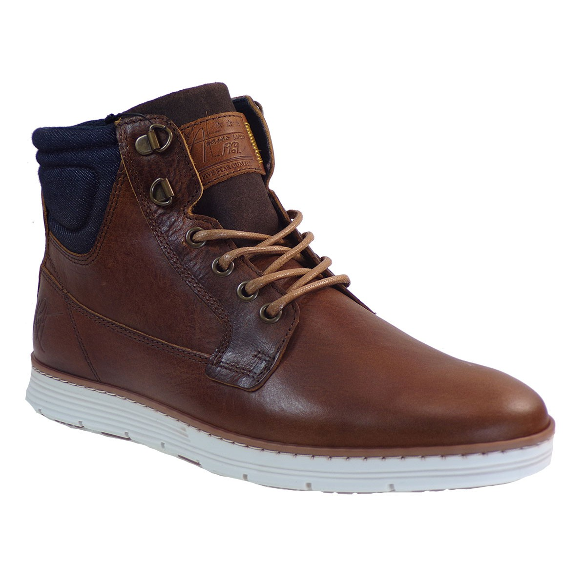 Bullboxer Ανδρικά Παπούτσια Mποτάκια 522-628Κ56522Α Tαμπά Δέρμα J57755222532
