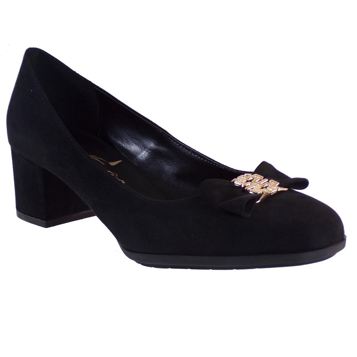 Smart Cronos Γυναικεία Παπούτσια 7145-LADY Μαύρο Καστόρι
