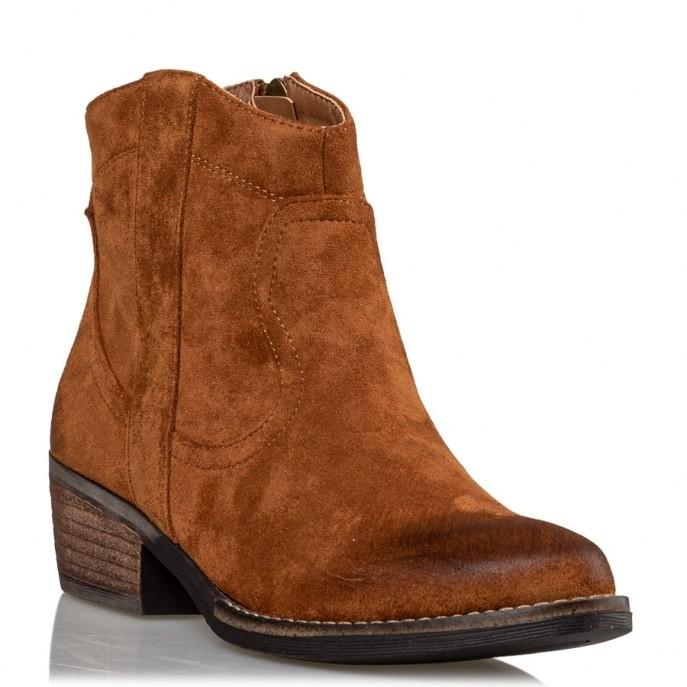 Miss NV Γυναικεία Παπούτσια Μποτάκια V49-10029-26 Κάμελ