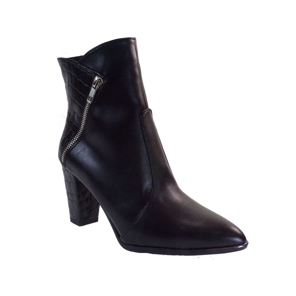 Smart Cronos Γυναικεία Παπούτσια Μποτάκια 7149-2716 Μαύρο