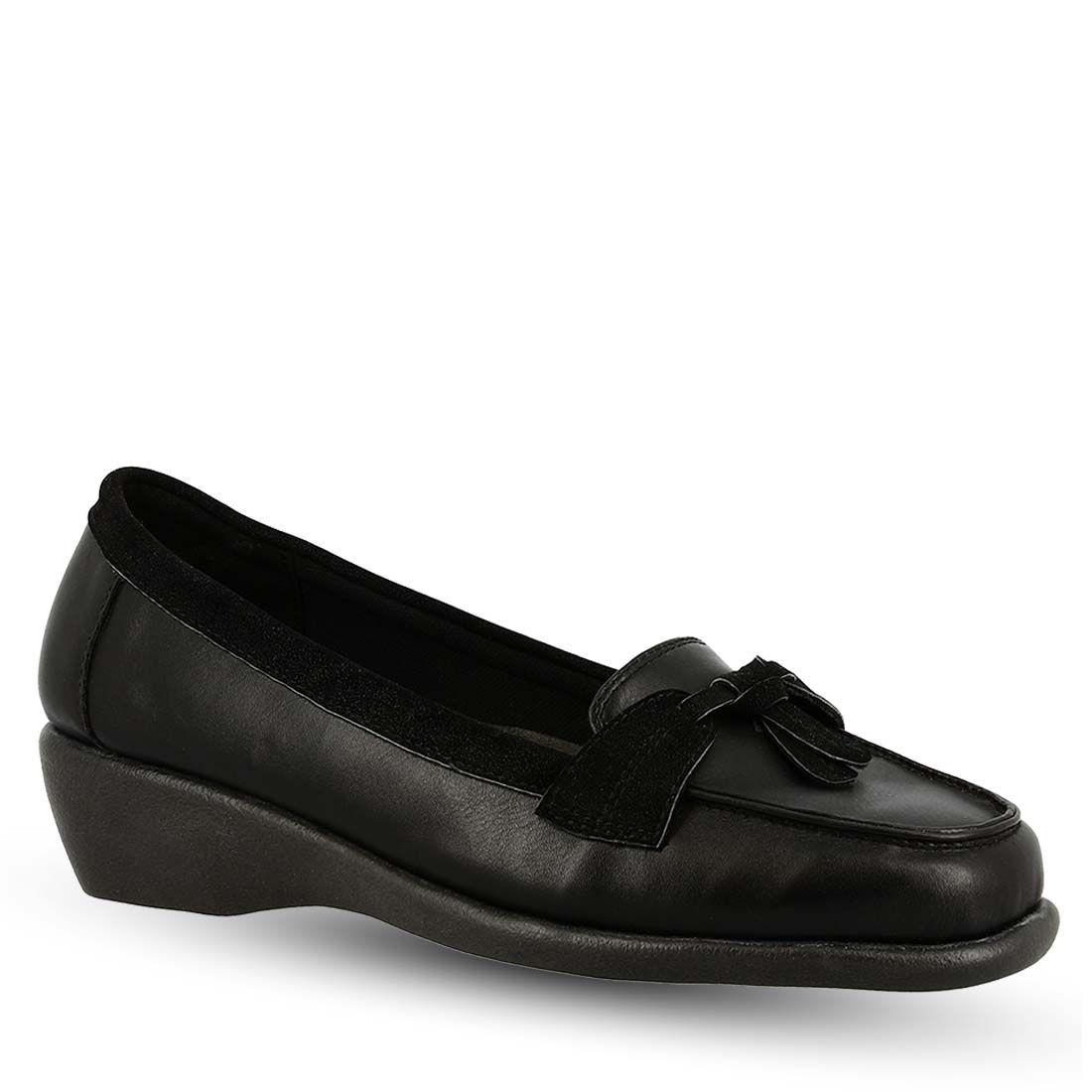 Parex Γυναικεία Παπούτσια Μοκασίνια 10520005.Β Μαύρο