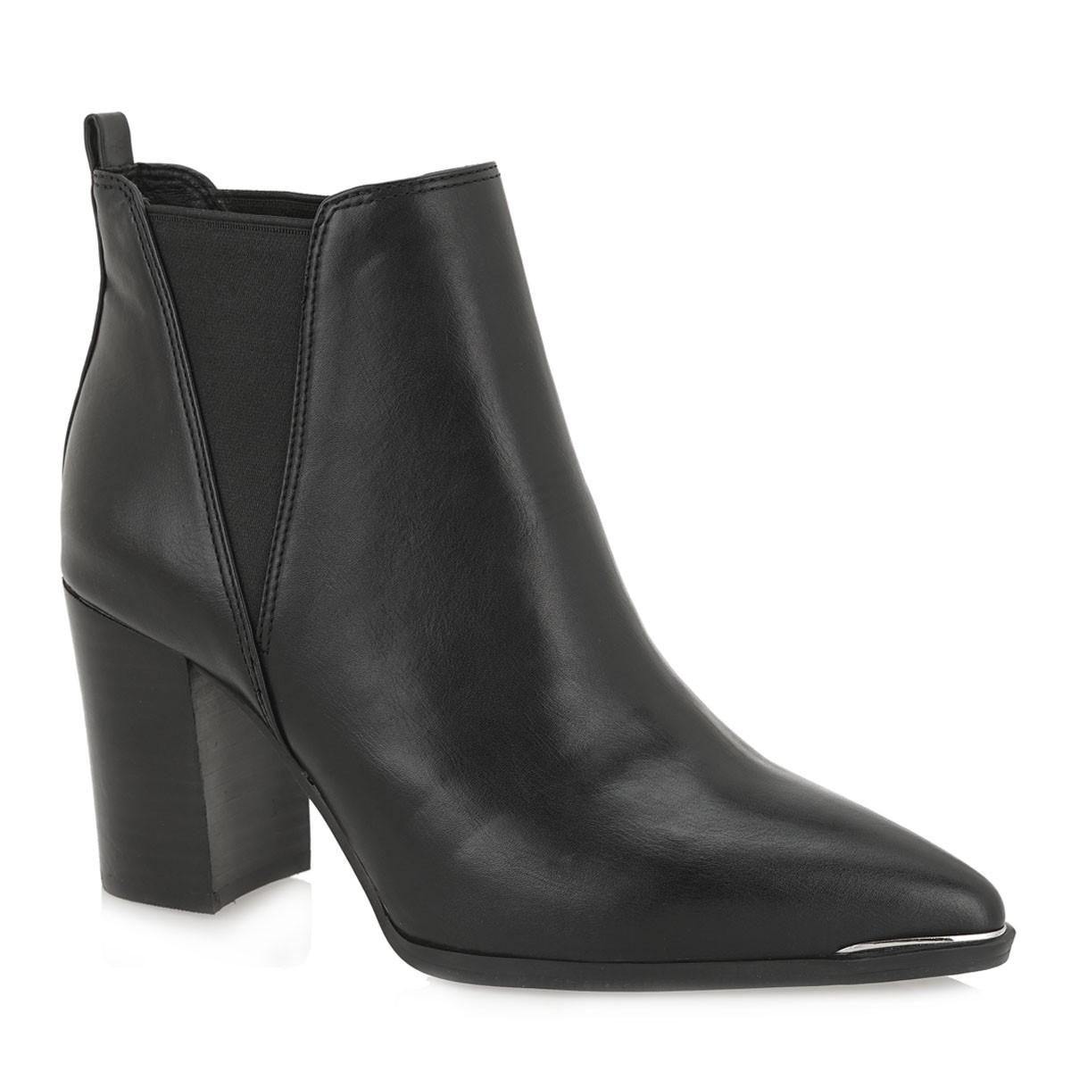 Exe Shoes Γυναικεία Μποτάκια AMANDA-090 Μαύρo J3700090400107