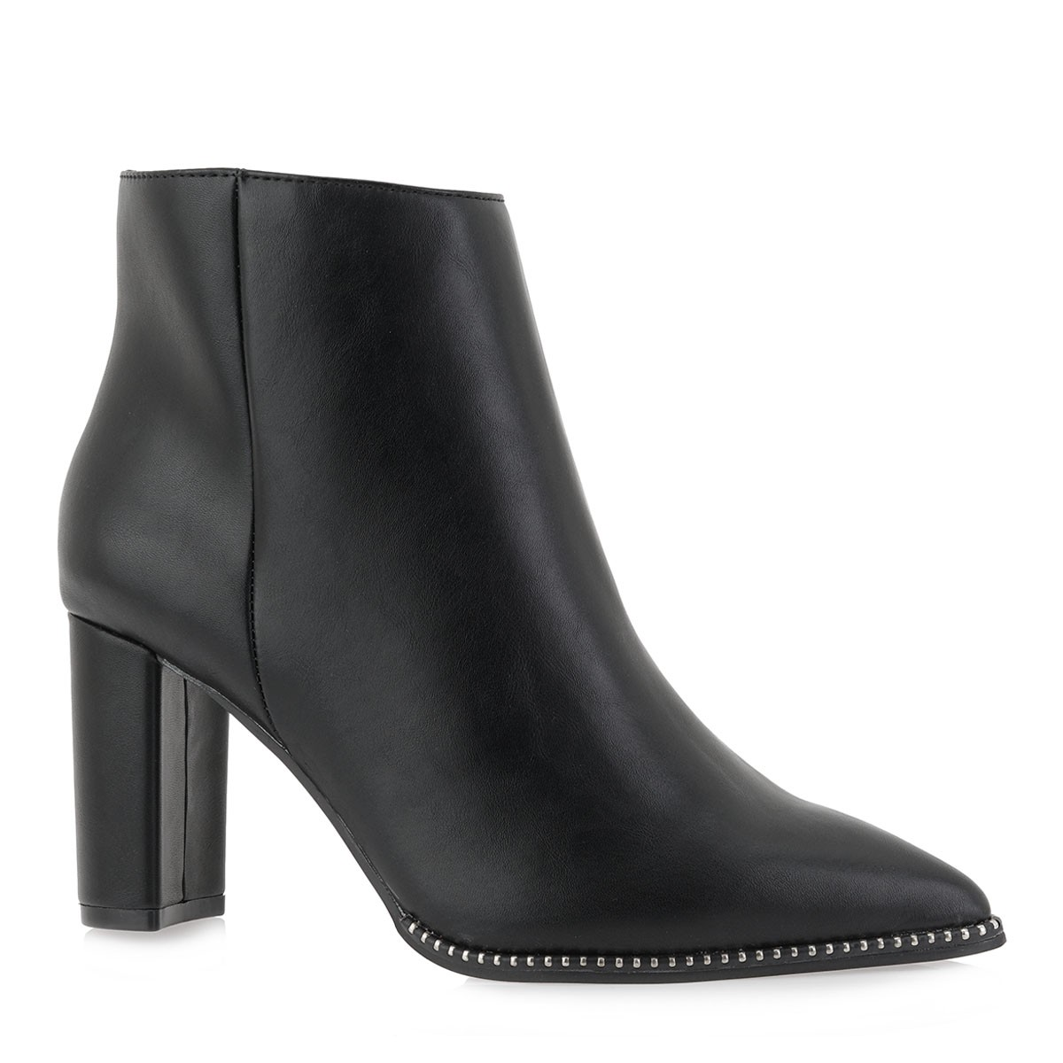Exe Shoes Γυναικεία Μποτάκια PAMELA-440 Μαύρo J370004404001