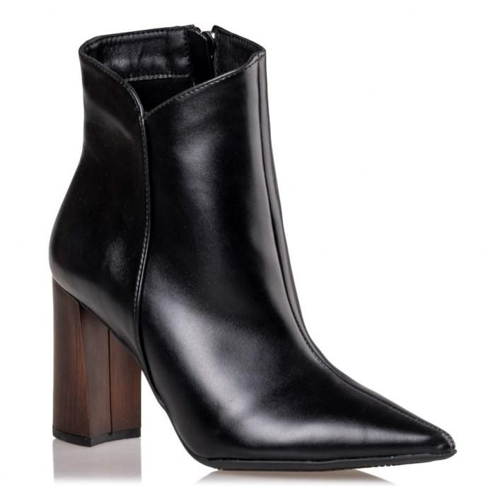 Mairiboo by Envie Shoes Γυναικεία Mποτάκια M03-10440-34 Μαύρο WOODY BOOTY