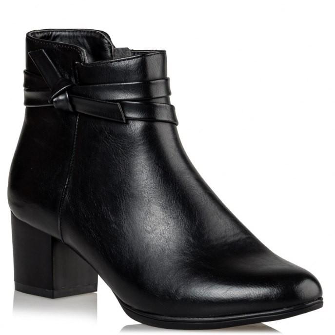 Miss NV Γυναικεία Παπούτσια Μποτάκια V89-10114-34 Μαύρο