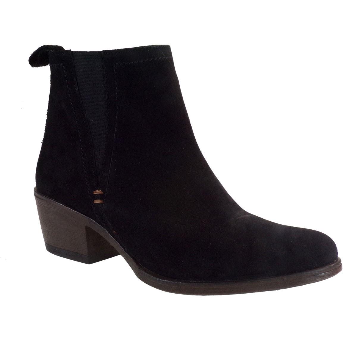 Commanchero Γυναικεία Παπούτσια Μποτάκια COW BOY 5569-421 Μαύρο Καστόρι Δέρμα