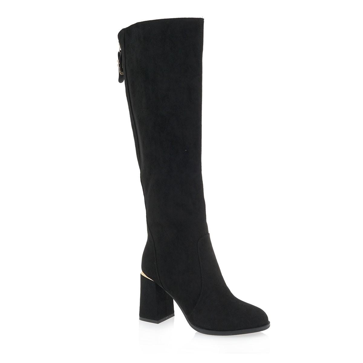 Exe Shoes Γυναικεία Παπούτσια Μπότα 426-XJ1130 Μαύρo Καστόρι J267V4265004