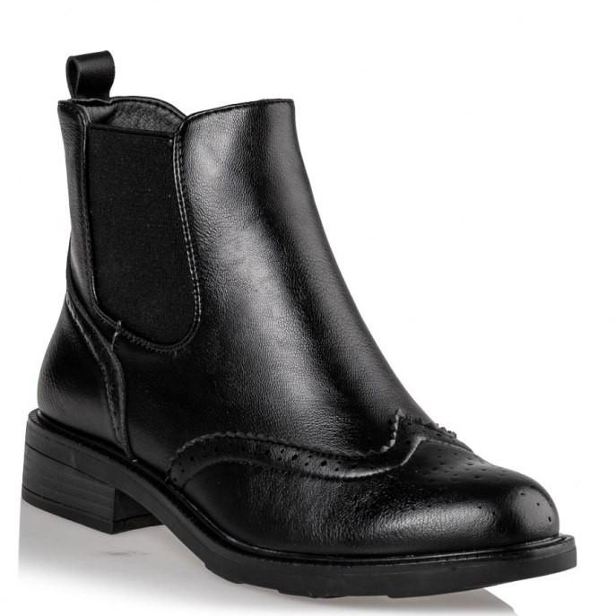 Miss NV Γυναικεία Παπούτσια Μποτάκια OXFORD V63-10948-34 Μαύρο