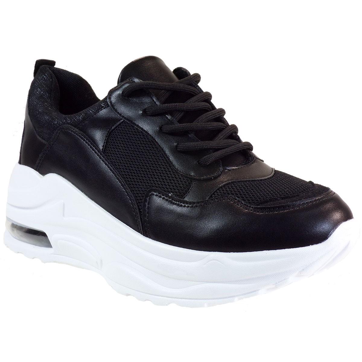 Bagiota Shoes Γυναικεία Παπούτσια Sneakers Αθλητικά Α2 Μαύρο
