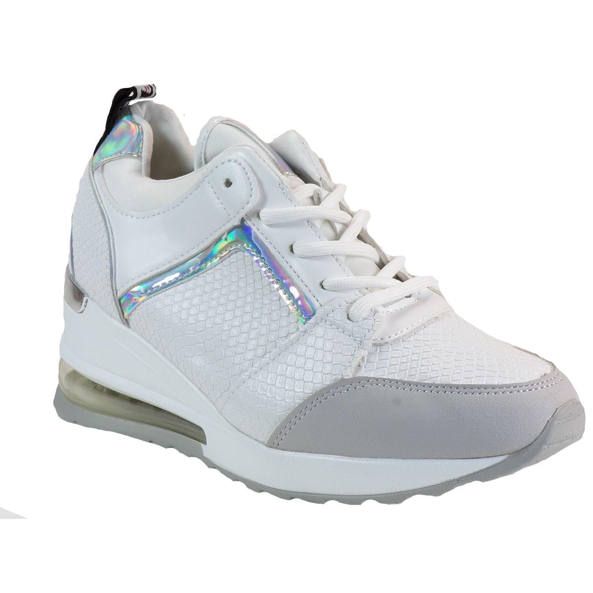 Bagiota Shoes Γυναικεία Παπούτσια Sneakers Αθλητικά Β0-245 Λευκό