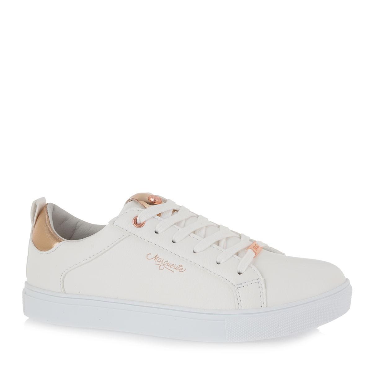 Renato Garini Sneakers Γυναικεία Παπούτσια 218-19WC1218 Λευκό Ρόζ Χρυσό K157Q218265S