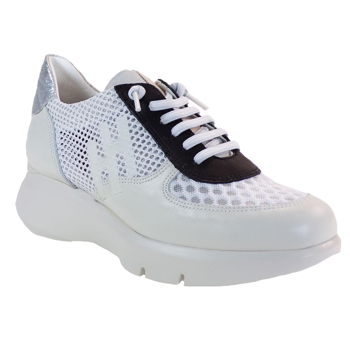 Hispanitas Γυναικεία Sneakers Αθλητικό HV00228 Λευκό Δέρμα