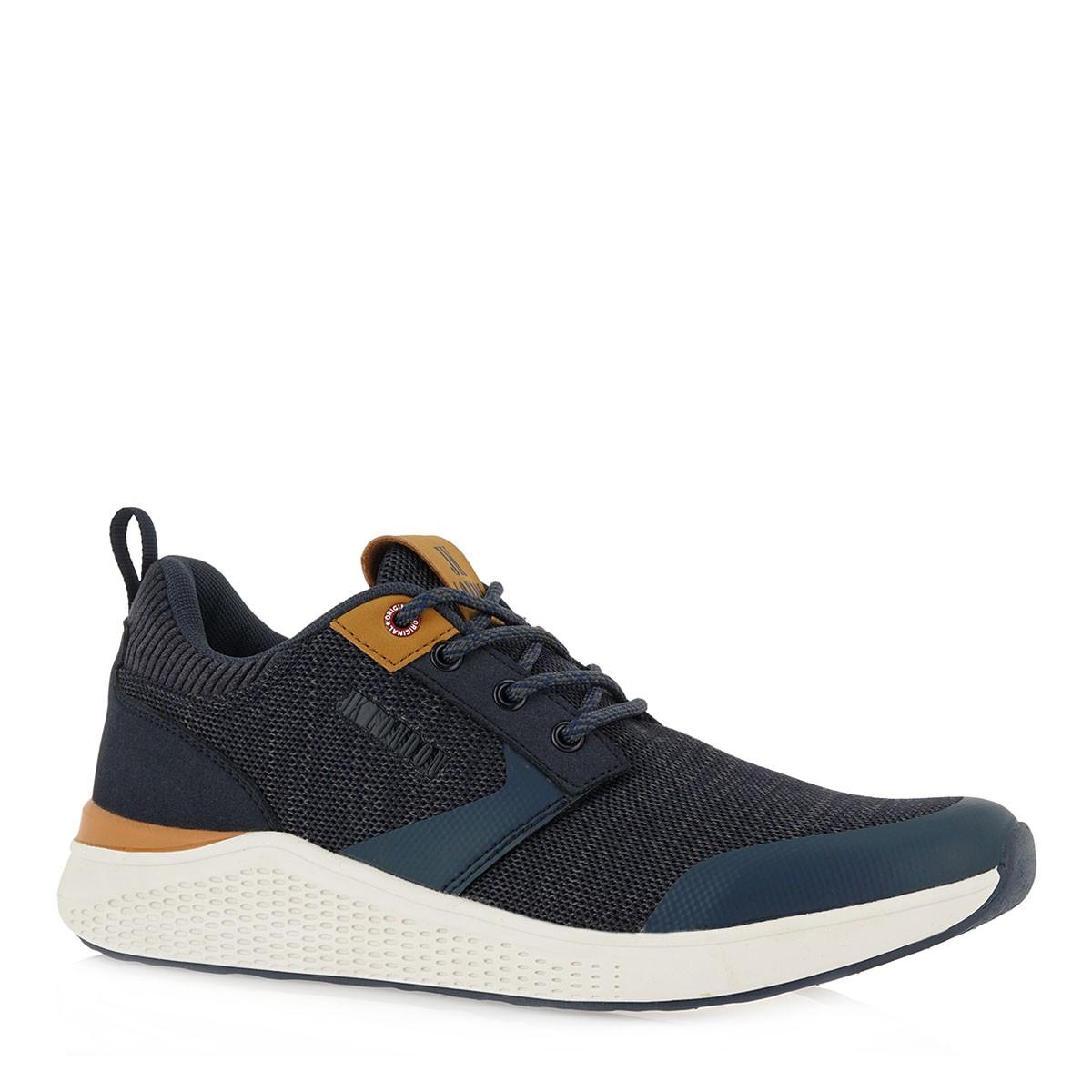 JK LONDON Ανδρικά παπούτσια Sneakers 059-905059Α Μπλέ K585X0441A50