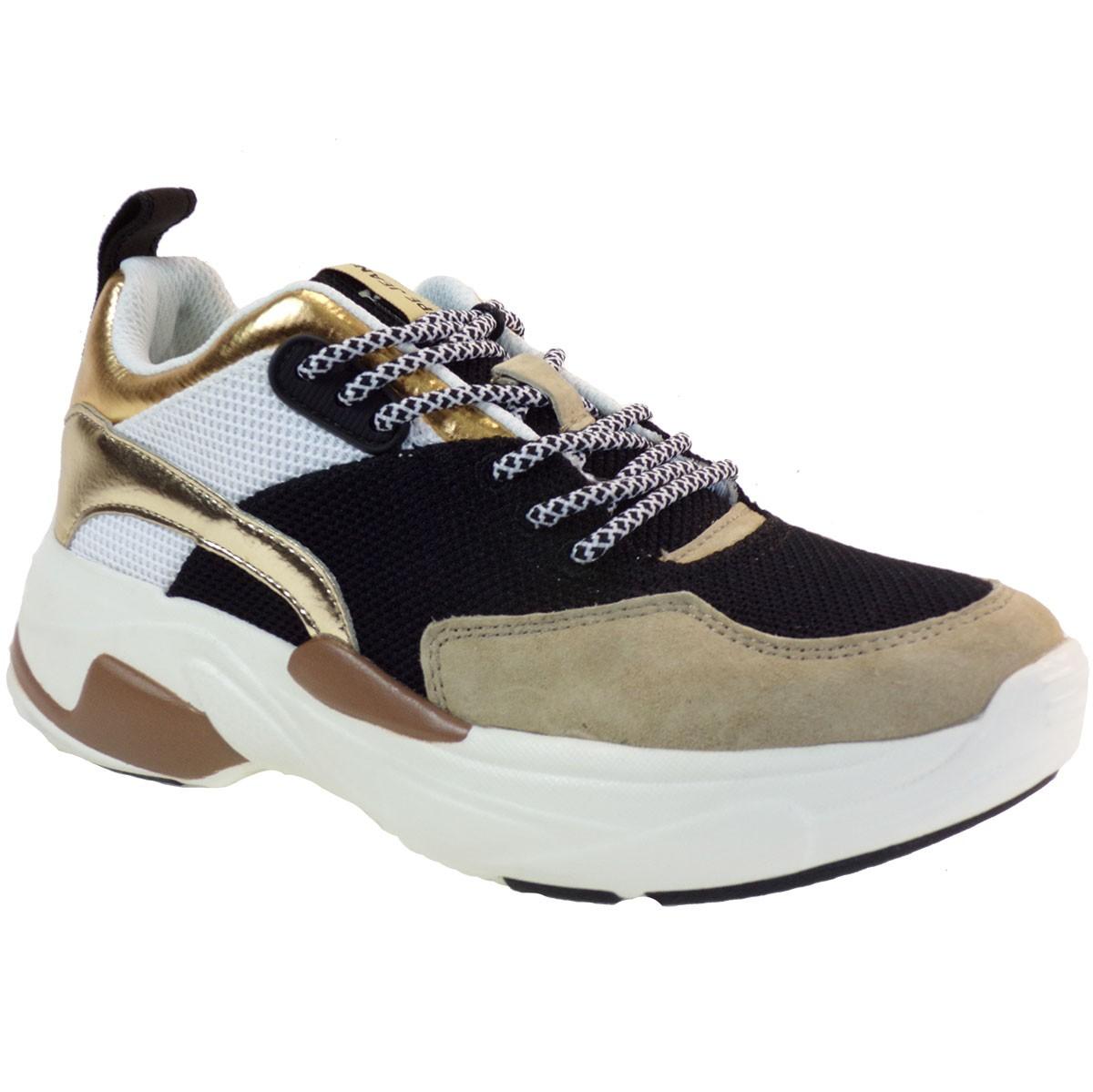 pepe jeans gynaikeia papoystia sneakers pls30985 mauro www.bagiotashoes.gr