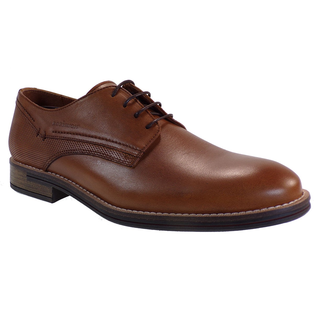 Robinson Ανδρικά Παπούτσια 2042 Ταμπά Δέρμα