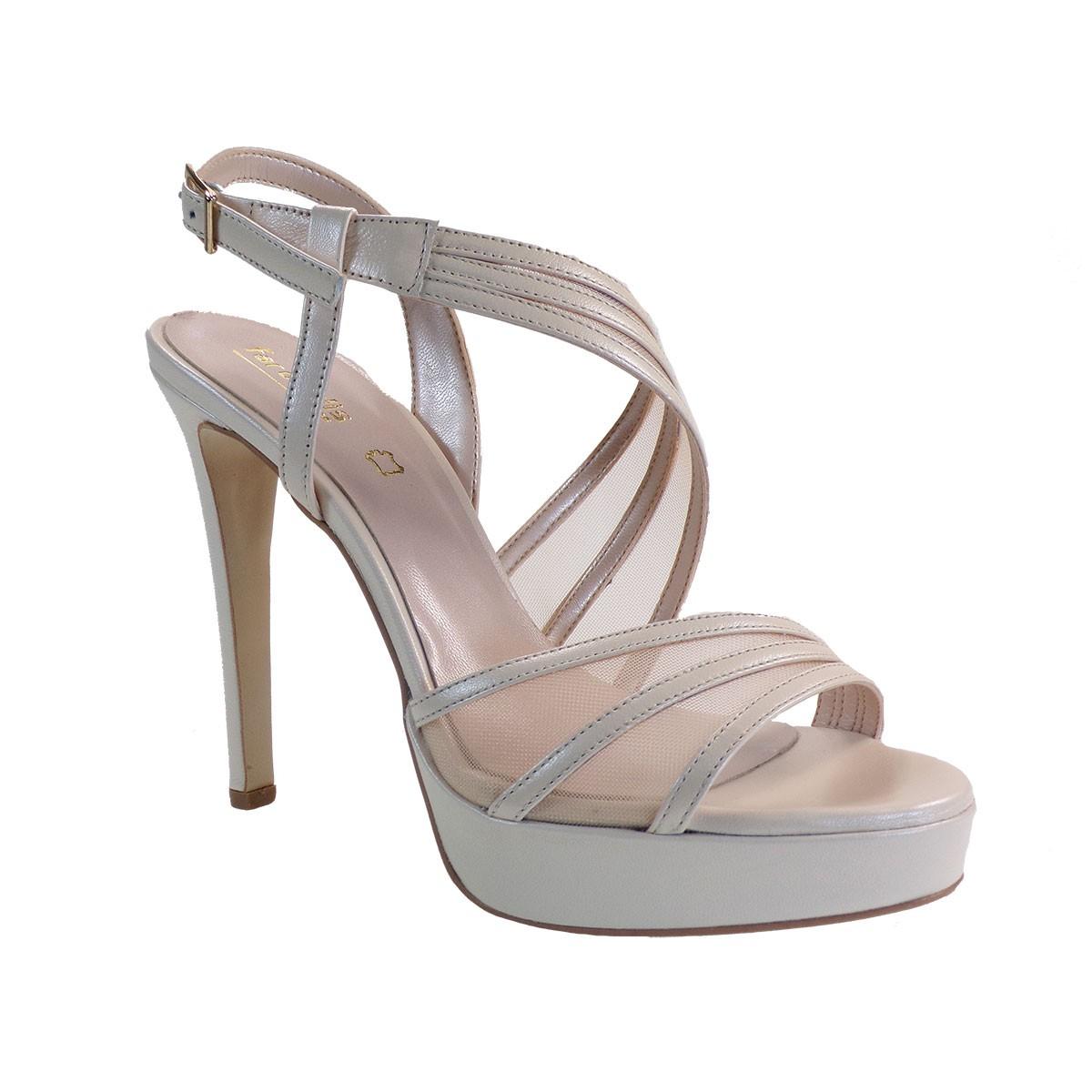 Fardoulis shoes Γυναικεία Παπούτσια Πέδιλα 3047Λ Υβουαρ Δέρμα