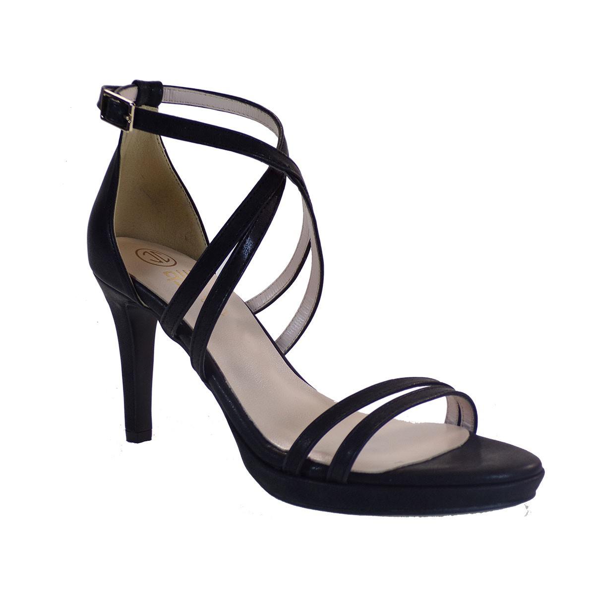 Katia Shoes Γυναικεία Παπούτσια Πέδιλα A16-4967 Μαύρο