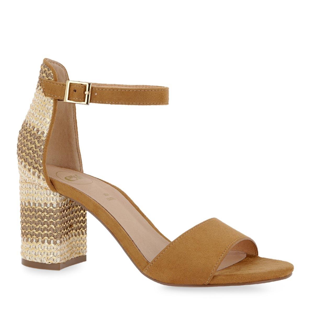 EXE Shoes Πέδιλα Γυναικεία ADELLE-622 Ταμπά Καστόρι K47006224534